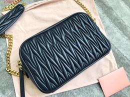 $enCountryForm.capitalKeyWord Australia - Brand classic small square bag trend fashion chain hand strap shoulder Classic jacquard embossing sheepskin Messenger bag
