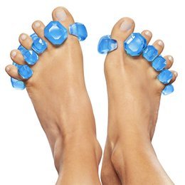 Fighting Australia - Silicone Toe Stretcher and Toe Separator - Choose to fight the bunion of the bun, hammer toe, change in the medial direction! Hallux valgus