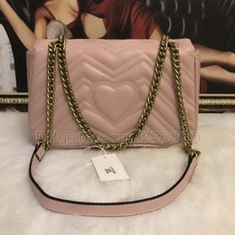 $enCountryForm.capitalKeyWord Australia - New Arrival Marmont Shoulder Bags Women Chain Crossbody Bag Handbags New Designer Purse Female Leather Heart Style Message Bag #1732719