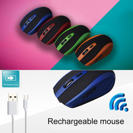 Built Computers Australia - USB Wireless Gaming Mouse Built-in Rechargeable Battery for PC Laptop Computer 8 SL@88