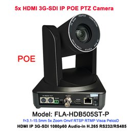 Ip camera ptz poe online shopping - 2MP Full HD Video Camera broadcasting equipment Professional IP Onvif PTZ H H POE Camera For Television
