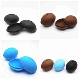 silicone cake ball NZ - Football Shaped Silicone Mould Ball Molds Cake Mold Ice Football Chocolate Moulds Cake Maker DIY Cooking Baking Tools ZZA2371
