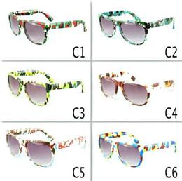 cf2208eb6d Gafas de sol para niños Marco con estampado de leopardo Gafas de sol para niños  Gafas para bebés Gafas de sol para bebés Gafas de viaje 6 color LJJK1556