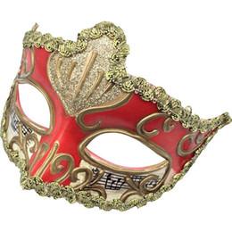 Wholesale Half Face Party Masks Australia - Party Masks For Adults Venice Masks Masquerade Mask For Carnival Masquerade Half Face Ball Party Festive Supplies