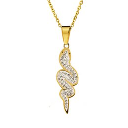 """Chinese Zodiac Charms Australia - Chinese Zodiac Necklaces Rhinestone """"Snake"""" Pendant O Link Chain Charm Necklaces For Women Men Jewelry Collar Kolye Accessories"""