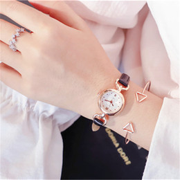 designer gifts for women Canada - High Quality Wholesale design quartz Lady wristwatches Womens Designer Watches Alloy Small Dial Lady Watches Best Gift For Women & Girl