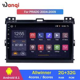 $enCountryForm.capitalKeyWord Australia - 2G RAM 32G ROM 9 inch Android 8.1 For Toyota Prado 2004-2009 Car DVD Player GPS Navigation Radio