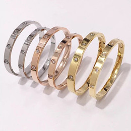 Yellow Gray Bracelet Australia - Classics Stainless Steel Men Women Bracelet Silver Rose Gold Cuff Bangles Women Men Screw Bracelet Screwdriver Couple Jewelry Valentine Gift