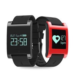 $enCountryForm.capitalKeyWord Australia - Smart Wristband Blood Pressure Heart Rate Monitor Bluetooth Call Reminder Activity Tracker Fitness Bracelet Waterproof IP67