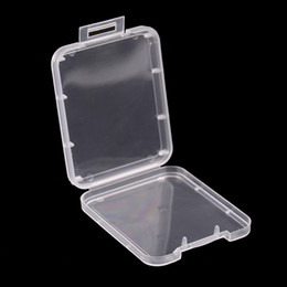 Sd xd online shopping - 5pcs Memory Card Case Box Protective Case for SD SDHC MMC XD CF Card White transparent