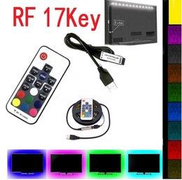 $enCountryForm.capitalKeyWord Australia - DC 5V USB LED Strip 5050 Waterproof RGB LED Light Flexible 1M 2M 3M 4M 5M add 17Key Remote For TV Background Lighting