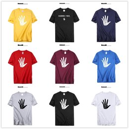 Wholesale 2019 Kawhi Leonard T shirts Big palm Logo Basketball Shirts Hands Patches mens designer Fans Tops Tees Printed Brand Logos funny leisure