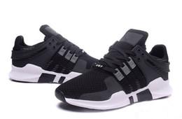 2019 Vente chaude EQT Support ADV Primeknit vente chaude chaussures de course de qualité pour hommes et femmes chaussures de sport baskets size36-44 A147 en Solde