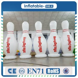 Wholesale carnival fun for sale – halloween Pieces m Inflatable Bowling Ball Family Fun Pack Indoor Backyard Lawn Carnival Kids Adults Game Toy Set