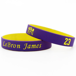 $enCountryForm.capitalKeyWord Australia - Good quality silicone power bangle rubber sports bracelet super star signature wristband as james fans gift