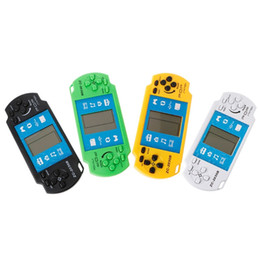 Free science games online shopping - Mini Tetris Video Game Console Electronic Handheld Games Retro Brick Game De Inch Video Games Player