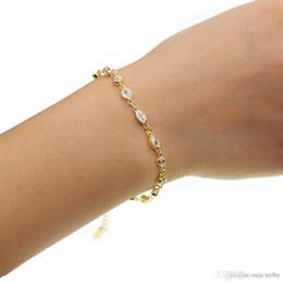 Silver Tennis Bracelet Diamonds Australia - rhodium 18k gold rose gold plated cubic zirconia wedding bridal gift jewelry 925 sterling silver tennis diamond bracelet