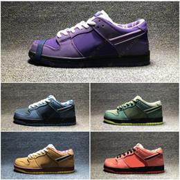 DiamonD cotton online shopping - Purple Lobster Diamond Su Fashion Designer Star Sole Casual Sports Shoes Concepts x SB Dunk Low Skateboard Shoes