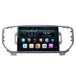 Discount kia touch screen - Big screen android Octa 8 Core Car Multimedia Player for KIA sportage 2016 2017 KX5 gps navigation 1 din car stereo head