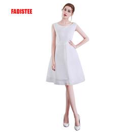 Double Shirt Designs Australia - new design A-line short dresses cocktail party dress double layers style simple