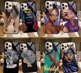 AmericAn iphone online shopping - 32 types glass cell Phone Case fashion new American girls for iPhone pro max X XR XS Max s plus plus plus Soft TPU Back Cover