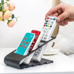 dvd storage bags Canada - Newly TV DVD VCR Air-Conditioner Remote Controller Stand Storage Holders Racks Mobile Phone Supporter Organizer