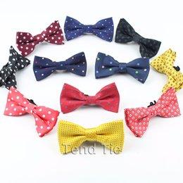$enCountryForm.capitalKeyWord Australia - Kids Niffty Dot Colorful Bowties Baby Boy Girl Daily Party Cute Pet Butterflies