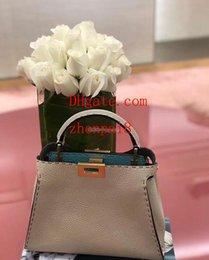 $enCountryForm.capitalKeyWord Australia - 2019 brand fashion bags solid color litchi grain Cowhide handbag caual Genuine Leather handbags crossbody bag handbags purses women GR-5