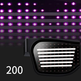 $enCountryForm.capitalKeyWord UK - Cool Disco  Wine Bar Dynamic Flashing LED Glasses Raves APP Customizable Light Up Glass USB Charging