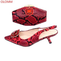 Italian Office Shoes Designs Australia - 2019 Italian Design Shoes And Bag Comfortable To Match Shoes With Bag Set African Shoes And Bag Set For Party!TG1-2