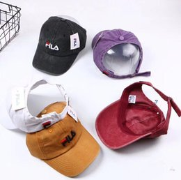 6d5b9d52259 Visor Cap Hair Australia - ponytail baseball cap Half empty top Visor Messy  Bun Snapback Cap