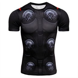 $enCountryForm.capitalKeyWord Australia - Hot 2019 Most popular,Thor,3D printing, High Strength, Tight-fitting,Sweat-sweating, Fast-drying Men's Sports and Fitness T-shirt GYM
