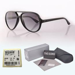 Rimless Hinged Frames Australia - New arrival Brand Designer Classic sunglasses Men Women plank frame Metal hinge glass lens Retro Eyewear with free cases and label