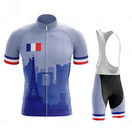 france white jersey 2021 - Summer Cycling Jersey Breathable MTB Cycling Clothing Mountain Bike Wear Clothes France Maillot Ropa Ciclismo Hombre Triathlon