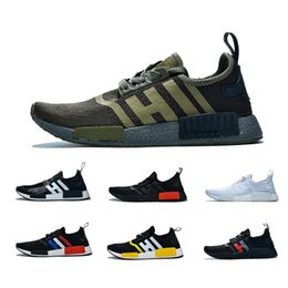 $enCountryForm.capitalKeyWord Australia - Newest NMD R1 Cheap Atmos Bred Running Shoes Black White Red Marble Tri-Color OG Classic Men Women Sports Trainer Sneakers 36-45