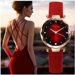 Luxury Crystal Women Quartz Watch Australia - New Womens Watches Dress Relojes Crystal Gogoey Women Elegant Quartz Wristwatch Mujer Pu Leather Watch Feminino Relogio