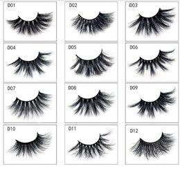 a7e4a9eb3c8 Big eyes fake eyelashes online shopping - 25mm D Mink Eyelashes False  Eyelashes Big Dramatic Volumn
