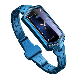 $enCountryForm.capitalKeyWord NZ - B78 Smart Bracelet Women Fitness Watch Heart Rate tracker Monitor blood pressure oxygen Smartwatch band best gift for girlfriend