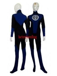Funny Party Suits Australia - new color Black & Navy Blue Lantern Crops Superhero Costume Halloween Party Zentai Suit