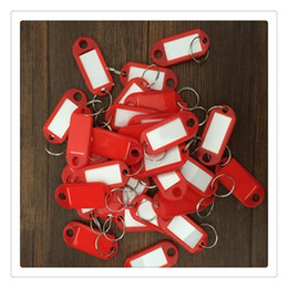 $enCountryForm.capitalKeyWord Australia - Multicolor Plastics Key Chains Luggage Tags Id Label Classification Remember Name Tags With Split Ring For Baggage Key Rings For Home