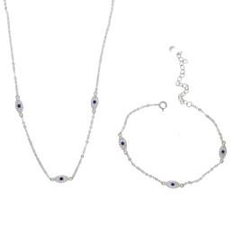 11a414db84 Pulsera al por mayor juego de collar elegante regalo de la fiesta de las  mujeres joyería