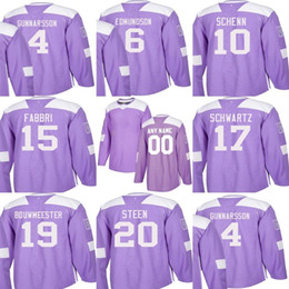 $enCountryForm.capitalKeyWord Australia - Custom Mens Momens Kids St. Louis Blues 6 Joel Edmundson 10 Brayden Schenn 15 Robby Fabbri 20 Steen Stitched Purple Ice Hockey Jerseys