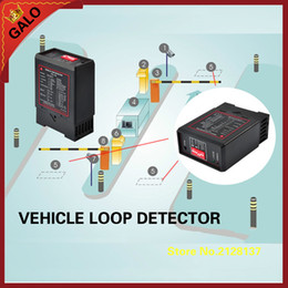 GALO car parking system gate loop detector Magnetic Vehicle Loop Detector for parking barrier control, vehicle counting, automated gates and on Sale