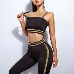 74b2c0ed7 Yoga Suit For Women Sport Wear Solid Gym Clothing Sleeveless Sport Set  Women Fitness Clothes Roupa De Academia Feminina