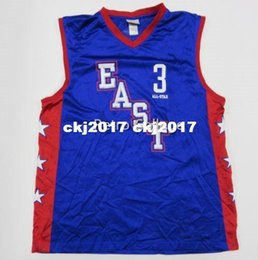 66aae3887b88 Eastern All Stars Ben Wallace  3 Blue Basketball Jersey All Size Embroidery  Stitched Customize any name and name XS-6XL vest Jerseys Ncaa