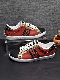 $enCountryForm.capitalKeyWord Australia - New fashion luxury design casual shoes men's brand designer real leather shoes men's player