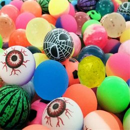 $enCountryForm.capitalKeyWord Australia - Diameter 30mm Rubber Bouncing Balls Funny Toy Bouncy Ball Picture Bouncing Ball for Kids Decompression Toys Amusement Toys Bounce Ball DHL