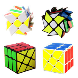 $enCountryForm.capitalKeyWord UK - Magic Cube Puzzle Cube Twist Toys 5.6cm 3x3x3 Gears Rotate Puzzle Wind and Fire Wheel Educational Gifts Toys for Kids