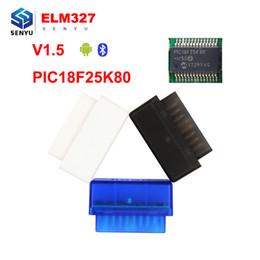 $enCountryForm.capitalKeyWord Australia - ELM327 V1.5 Bluetooth With PIC18F25K80 Chip OBD2 OBD II Diagnostic Scanner support all OBD II protocols elm 327 bluetooth V1.5
