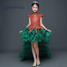$enCountryForm.capitalKeyWord Australia - girls holiday dresses Children's Chinese style Tang suit cheongsam dress childrens party dresses lovely lace flower girl dresses wedding